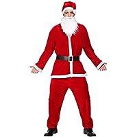 Costume Abito Vestito Babbo Natale Uomo Taglia Unica … - Abito Di Natale