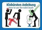 4x para cepillo instrucciones de uso de WC: WC Cepillo aprovechar, instrucciones de uso como Man 's Poder Y como no @ immi. de