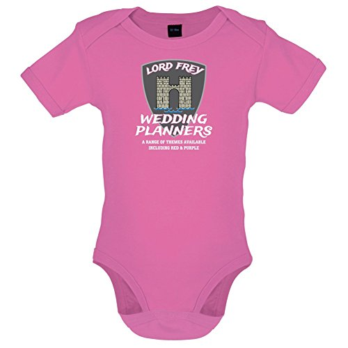 Lord Frey Wedding Planners - Lustiger Baby-Body - Bubble-Gum-Pink - 12 bis 18 Monate