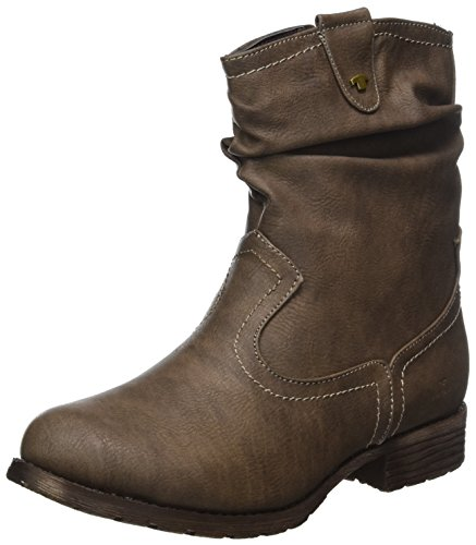TOM TAILOR Damen 379990330 Stiefel, Braun (Taupe), 39 EU