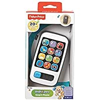 Fisher-Price BHC01 Smart Phone, Laugh and Learn Electronic Speaking Kids Role Play Toy Phone, Suitable for 6 Months Plus