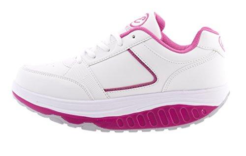 Eglemtek® TM Zapatillas de deporte adelgazantes Rassoda. Ayudan a modelar los glúteos. Zapatillas de deporte basculantes Multicolor Size: Num 41
