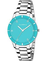 Laurels Lo-colors-141407 Analog Blue Dial Women's Watch-Lo-Colors-141407