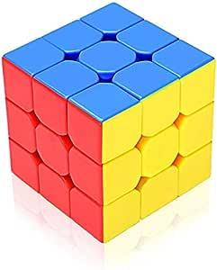FINELINE SHOPEE 3X3X3 High Speed Magic Rubik Cube Puzzle Toy
