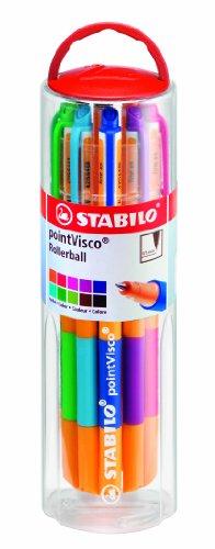 stabilo-pointvisco-penna-roller-colori-assortiti-astuccio-da-10