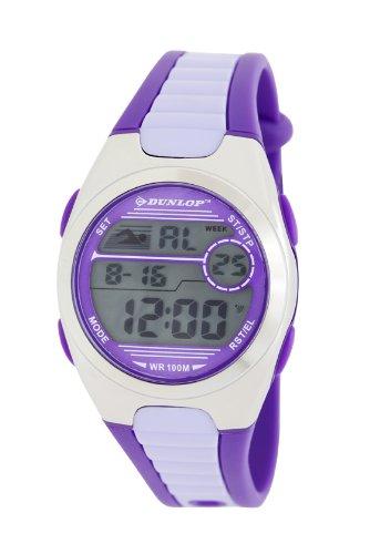 Dunlop DUN-194-M09 - Reloj Digital Para Mujer, color LCD/Morado