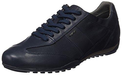 Geox U Wells A, Sneakers Basses Homme, Noir