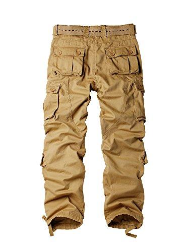 Giacca Woodland Militare Cargo Pantaloni #3357 Soil Yellow