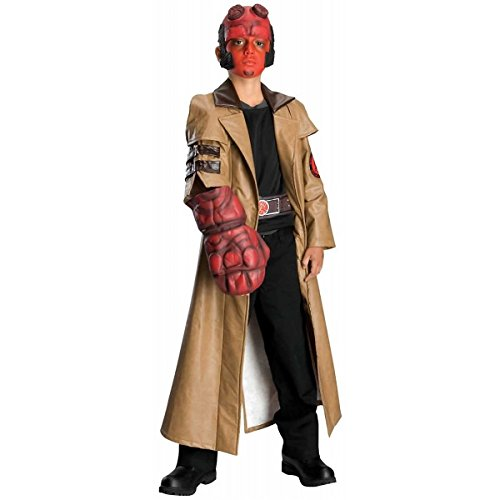 Hellboy Kostüm - Hellboy Kinderkostüm - Medium - 128 cm