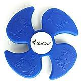 Fidget Hand Spinner Quadric Design by SeCro [ 2 Minutes Spin ] (Blue)