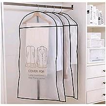 Aniyoo 6 St/ücke Kleidersack 3 von 120 x 60 cm und 100 x 60 cm+1 St/ücke Geschenk Schuhbeutel-Anzugsack Kleidersack Staubbeutel