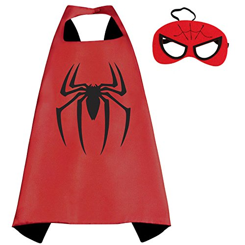 ducomir-costume-superhero-con-cappuccio-e-mantello-taglia-unica-spiderman