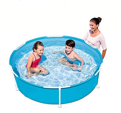 Thole Piscina da Bagno Pieghevole Pompa A Mano Giardino Interno Bath Tub 152.5x38cm