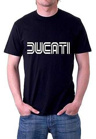 Ducati T Shirt Gr. L, Mehrfarbig - Schwarz