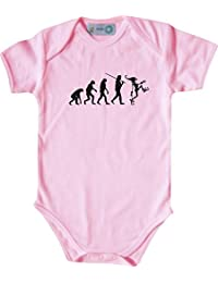 ShirtInStyle Kurzarm Babybody Karneval Evolution Karneval, Faschingsclown, Kostüme verkleiden