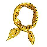 Dabixx Elegantes Design Satin Frauen Damen Kleine Quadratische Kopf Hals Quadrat Schal Schal 50 cm - 6#