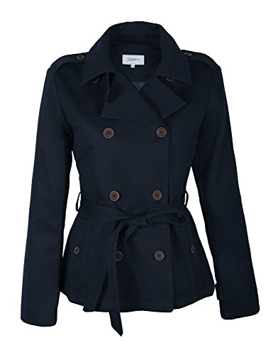 F006 Damen TRENCHCOAT Trench Mantel