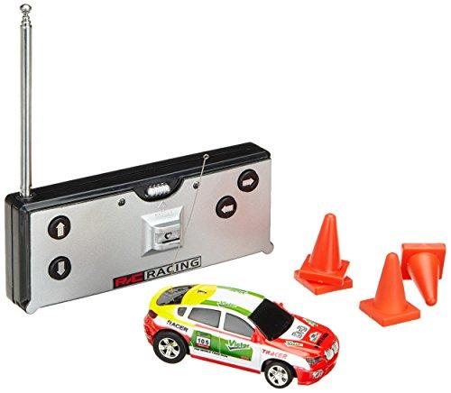 [Zufallsfarbe]Mini RC Raser ferngesteuertes 1: 63 Auto, Coladose Verpackung, Fernsteuerung mit Ladefunktion inkl. Zubehör - 3