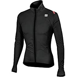 Sportful Chaqueta Hot Pack 6, color negro, tamaño extra-large