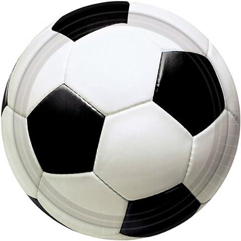Amscan International 22.8cm Plate Champion Soccer