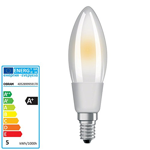 Fros-lampe (OSRAM PARATHOM ADVANCED LED RETROFIT CLASSIC B dimmbar 2 E14 220 240 V ADVANCED RETROFIT CL B40 fros)