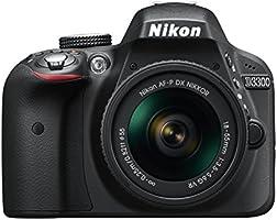 Nikon D3300 Spiegelreflexkamera Kit AF-P 18-55 VR schwarz