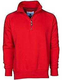 nuovo stile 4ae2a 390d2 Amazon.it: Maglia con zip - Rosso / Uomo: Abbigliamento