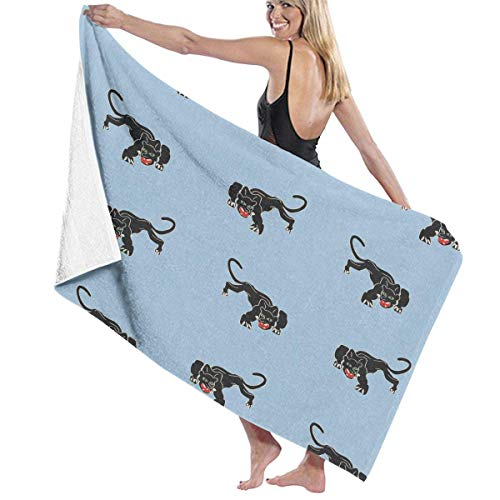 apnzll Microfiber Beach Towel Cheetah Bath Towel Beach Blanket Quick Dry Towel for Travel Swim Pool Yoga Camping Gym Sport -30
