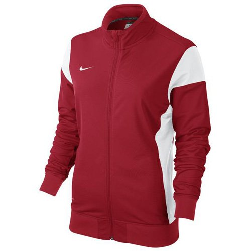 Nike Damen Sweatshirt Sideline Knit Academy 14 Trainingsjacke, university red/White, S (Dri Womens Nike Jacket Fit)