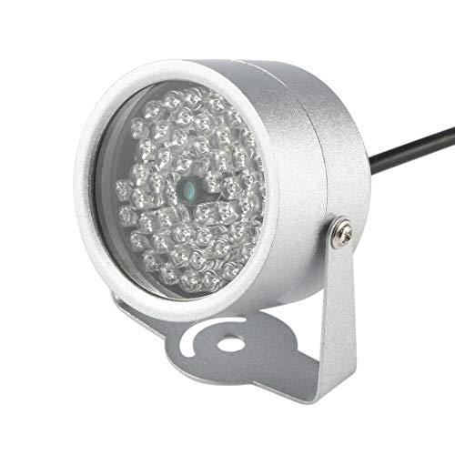48 LED Illuminator Licht IR LED Lampe Securit 850nm 12V CCTV IR Infrarot Nachtsicht Licht füllen Licht für Überwachungskamera