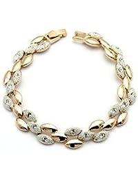 Lily Jewelry® Mujer    Metal chapado en oro de 18 quilates     cristal