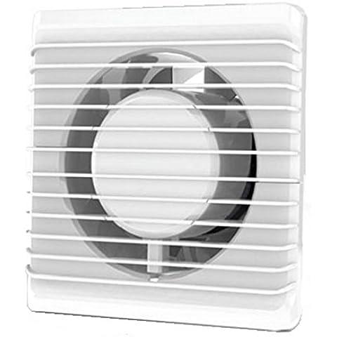 La energía baja cocina baño silenciosa campana extractora 125mm ingenio extracción ventilación sensor de