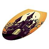 OverDose Damen Halloween WC Sitzwand Clubbing Bar Stil Aufkleber Decals Vinyl Kunst Tapete Abnehmbare Dekor