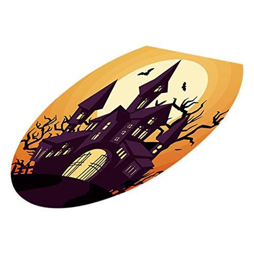 faschingskostuem qualle OverDose Damen Halloween WC Sitzwand Clubbing Bar Stil Aufkleber Decals Vinyl Kunst Tapete Abnehmbare Dekor