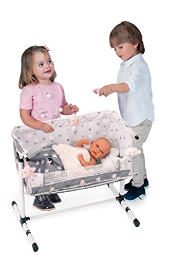 Decuevas Toys - Cuna regulable, almohada de nube incluida, multicolor (51224)
