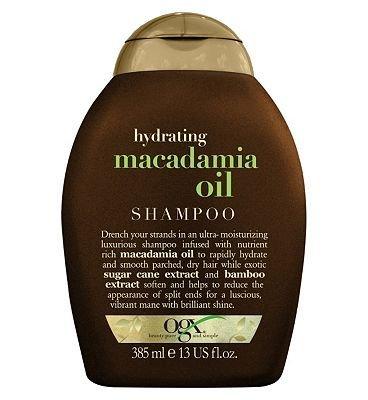 OGX Hydrating Macadamia Oil Shampoo 385ml by Organix