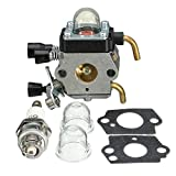 GOZAR Carburatore Carb per Stihl Hs45 Tagliasiepi Fs38 Fc55 Fs310 Zama C1Q-S169B