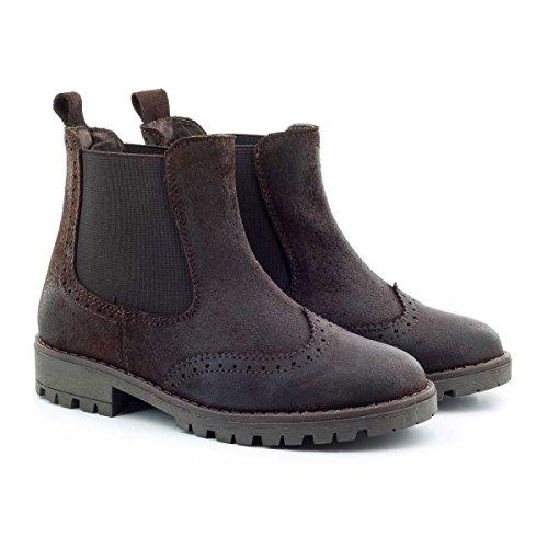 Boni Rainfall - boots enfant en daim gras