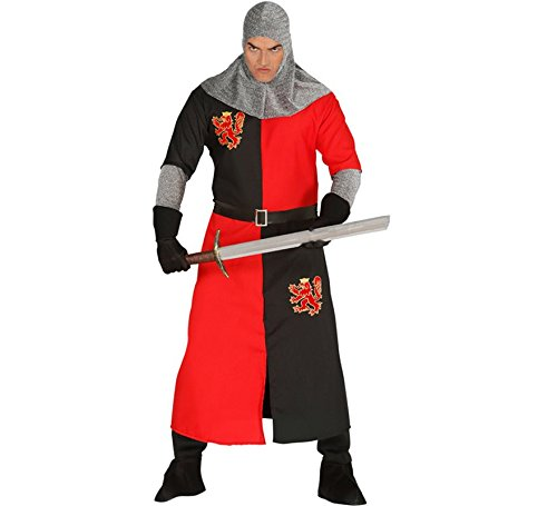 Guirca Mittelalterliches Ritter Kostüm für Herren,