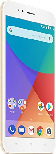"Xiaomi Mi A1 5.5"" Doble SIM 4G 4GB 64 GB 3080mAh Or - smartphone (14 cm (5.5""), 1920 x 1080 píxels, 4 GB, 64 GB, 12 MP, Or)"