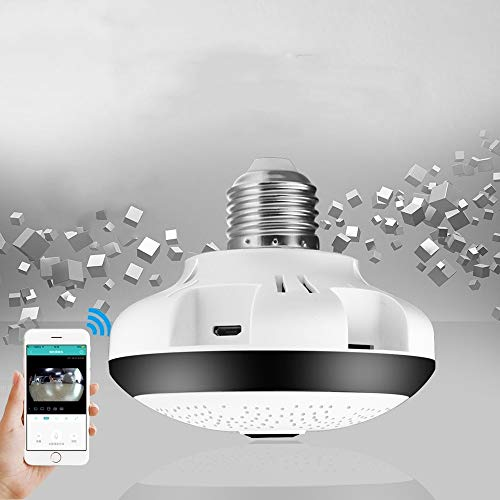 Yyzhx 360 °-VR HD Webcam Indoor und Outdoor Wireless Panorama Nacht Vision 1080p intelligentes Monitoring