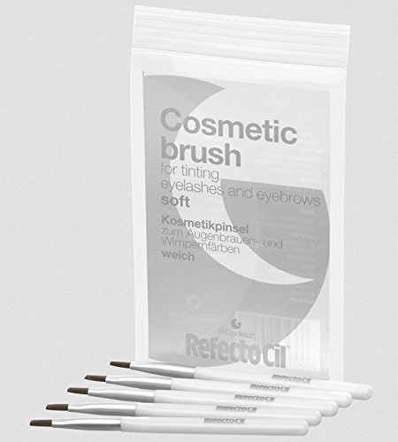 RefectoCil Kosmetikpinsel weich (5Stück)