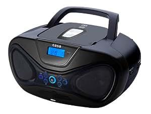 Casa BB6 Radio Cassettes Lecteur CD MP3 Port USB