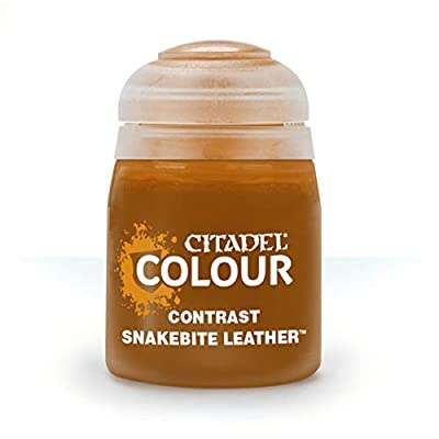 Games Workshop Citadel Pot de Peinture - Contrast Snakebite Leather (18ml)