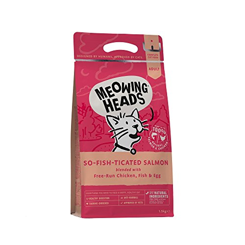 Meowing Heads Dry Cat Food - So-...