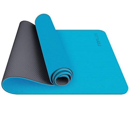 TOPLUS Esterilla Antideslizante Fitness Yoga Pilates