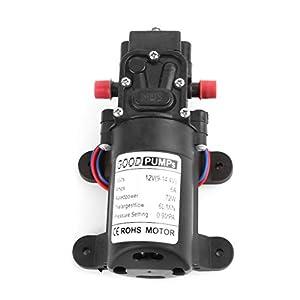 fxco tipo automático de reflujo de interruptor de bomba de agua de diafragma de alta presión de 12V 72W