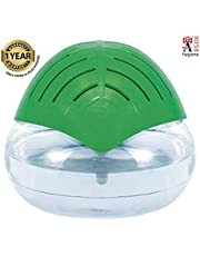 """""""A"""" PLUS Hygiene Portable Room Air Purifier and Humidifier Revitalizer (24 x 24 x 21 cm, White and Green) with Aroma Oil (15ml)"""