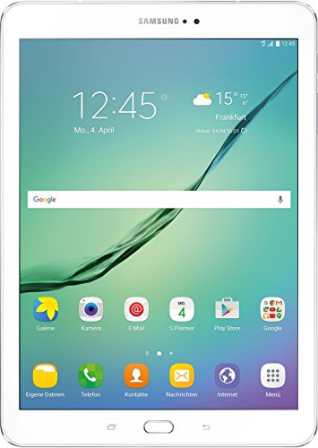Samsung Galaxy Tab S2 T819 24,6 cm (9,7 Zoll) LTE Tablet PC (2 Quad Core Prozessoren 1,8 GHz + 1,4GHz 3GB RAM Android) weiß (Samsung Galaxy Lte Tablet-fall)