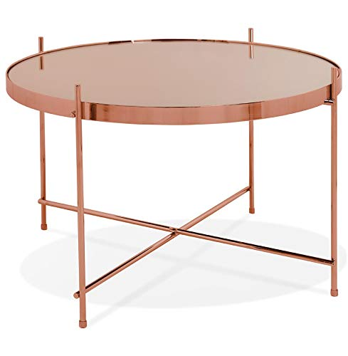 Couleur Alterego Basse Table 'Kolos Medium' cuivreAmazon SzMVUp